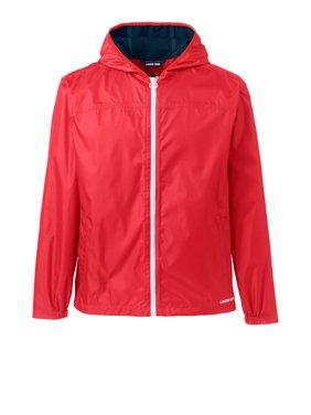 Lands' End Men's Waterproof Windbreaker Jacket