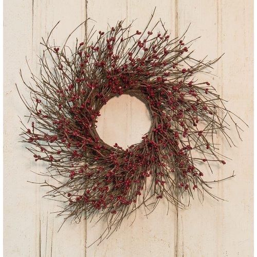 August Grove Pip Twig Wreath