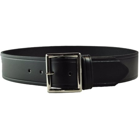 Tactical 365® Operation First Response Police & Security Black Leather Duty Garrison Belt Made in the USA -  Nickel, 28](Police Utility Belt)