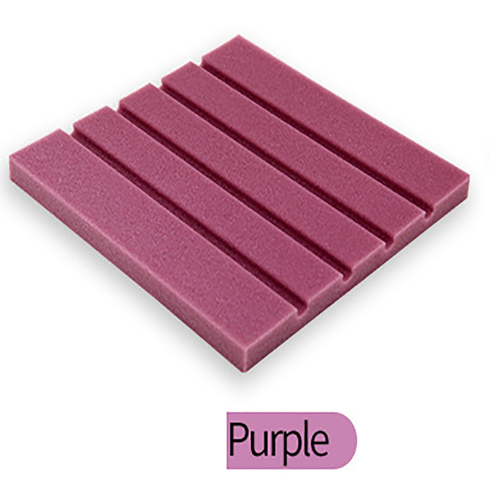 Huppin's Pure Color Acoustic Foam Panel Sound Absorption Material Soundproof Sponge Wall Sticker for Home Rome Studio Karaoke