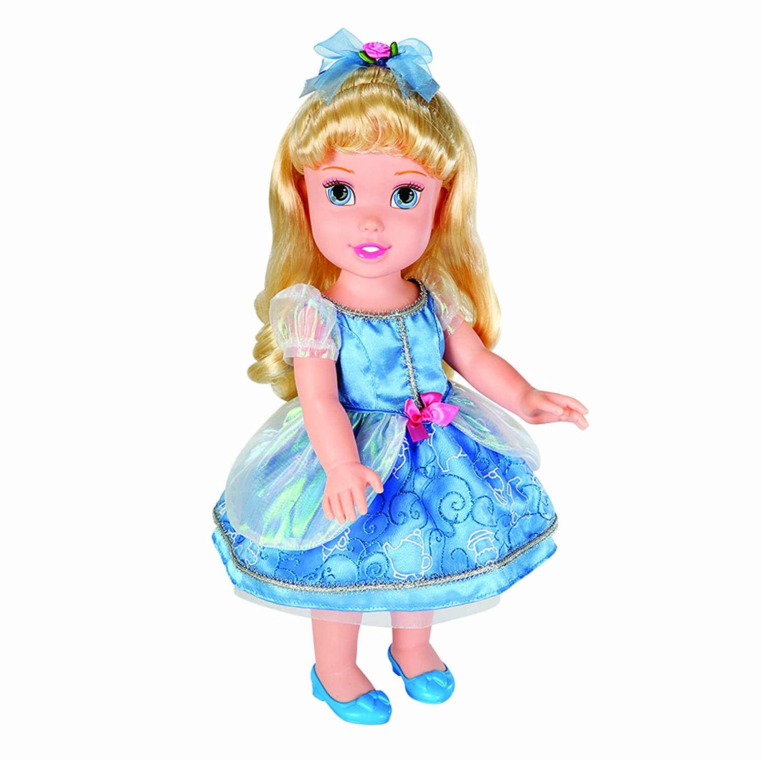 Disney Princess Party Time Doll -Cindy, Comes with an ice cream cone with sound function By Tolly Tots