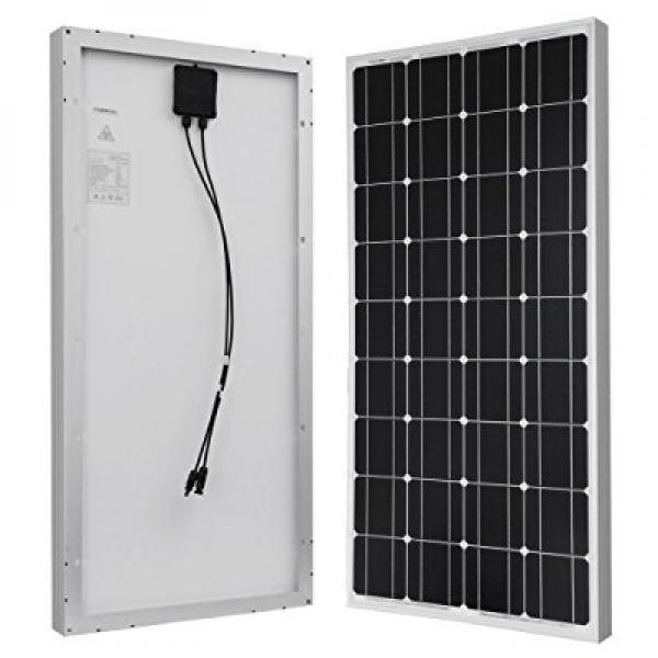 OTHER HQST 100 Watt 12 Volt Monocrystalline Solar Panel