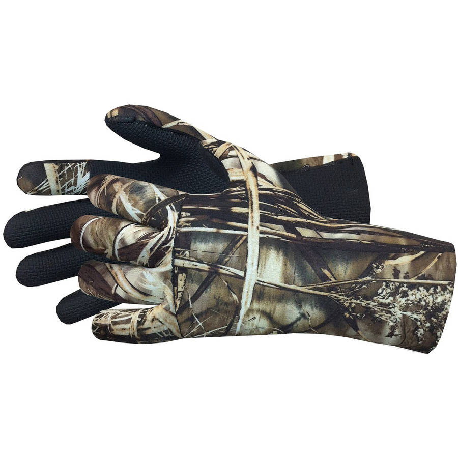Glacier Glove Aleutian Neoprene X-Large Full Finger, Camo by Glacier Glove