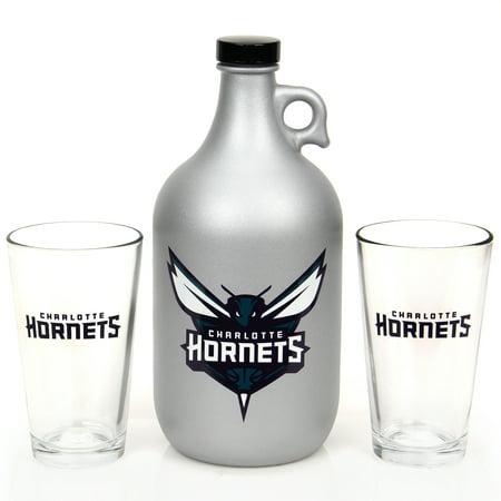 Charlotte Hornets Jug & Pint Glass Mixed Box Set - No (Charlotte Glasses)