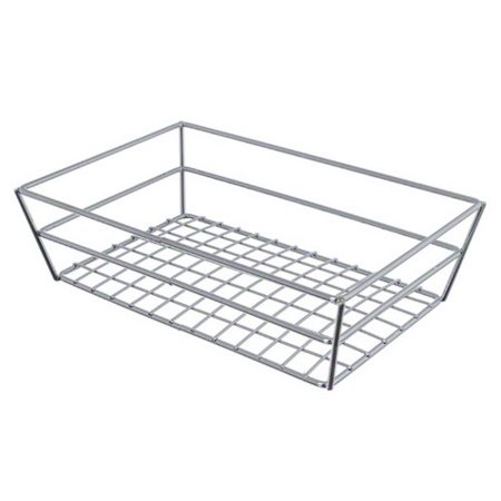 - RMB59C Rectangular Wire Grid Basket, Chrome, Baskets By American Metalcraft Ship from US