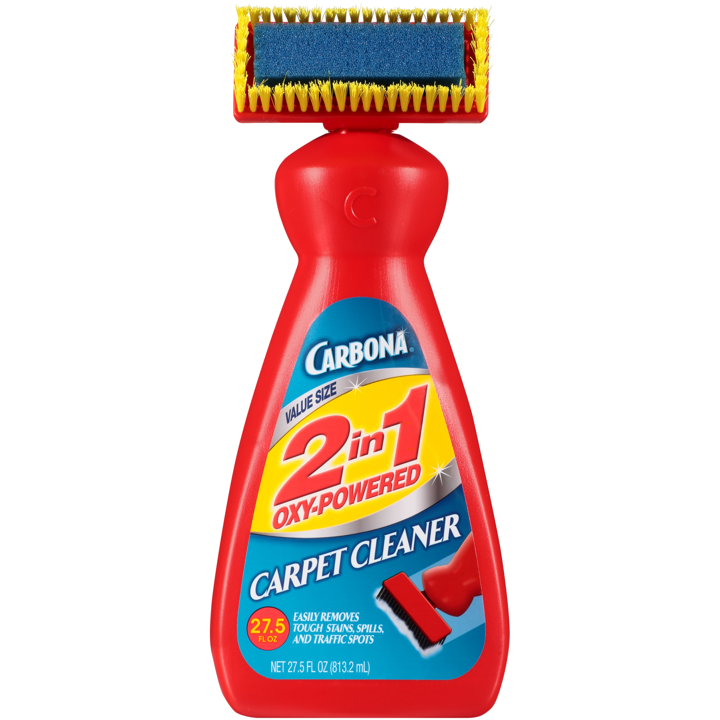 Carbona 2 in 1 Oxy-Powered Carpet & Upholstery Cleaner, 27.5 Fl Oz