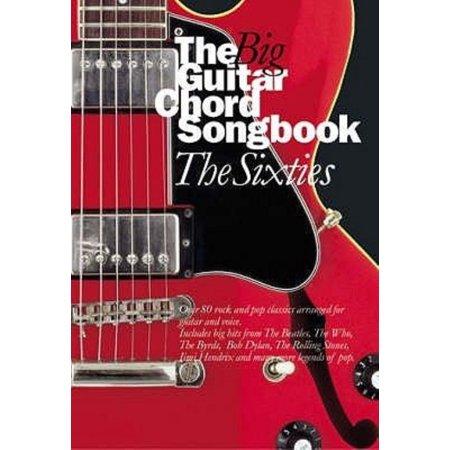 Guitar Chord Songbook Book - The Big Guitar Chord Songbook: Sixties (Paperback)