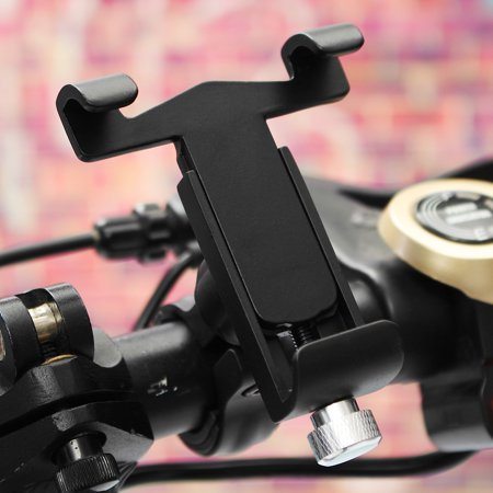 Universal Full Aluminum MTB Bicycle Bike Motorcycle Scooter Handlebar Phone Mount Holder for iPhone X, 8 7 6S 6 / Plus 5S, for Samsung Galaxy Note 8 S9/S8/S8 Plus/S7