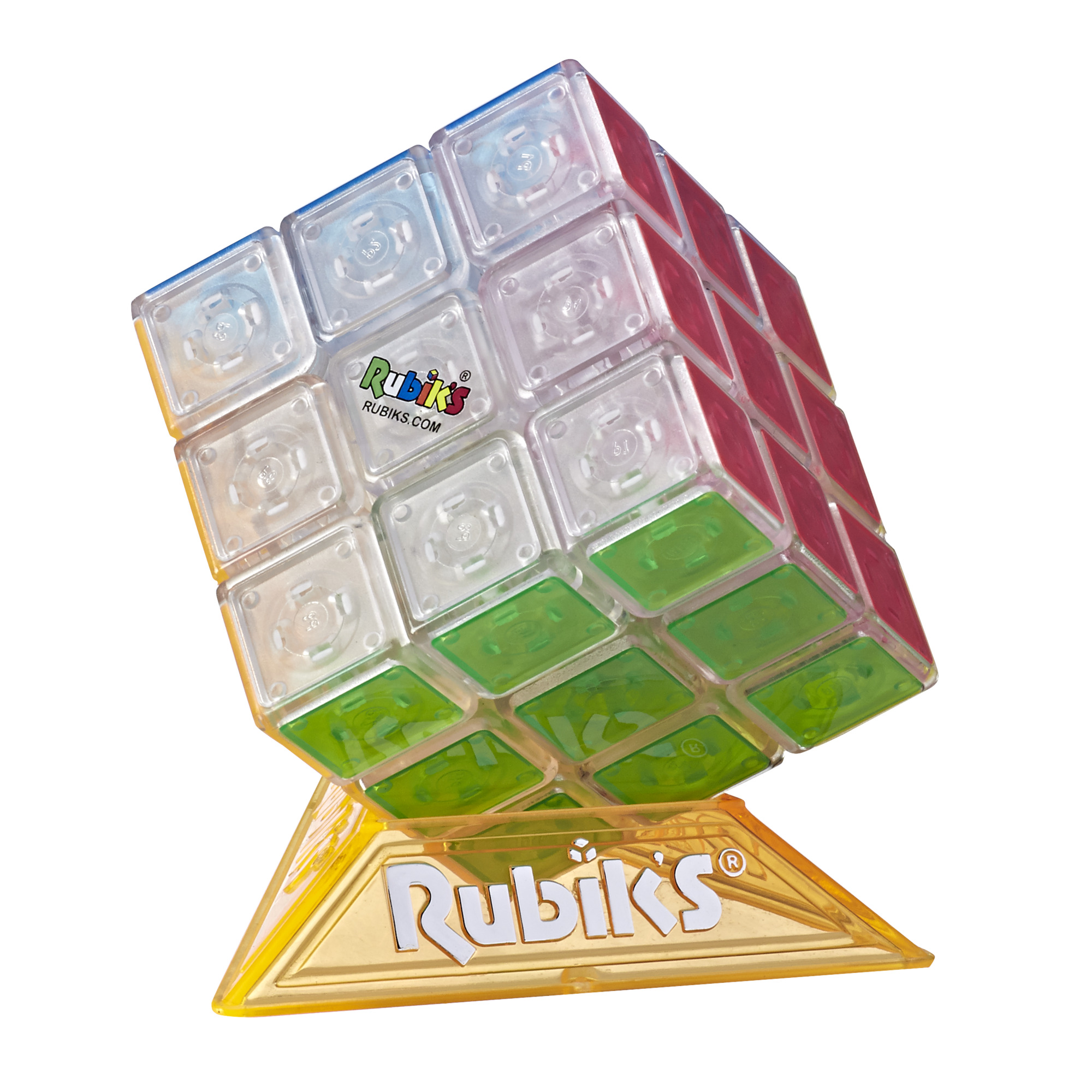 Rubik's Cube Neon Pop 3 x 3 Puzzle for Kids