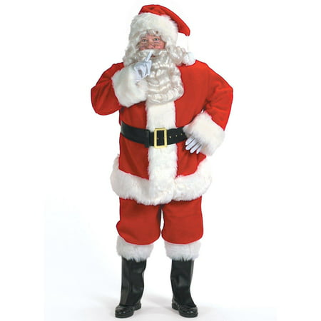 Professional Santa Suit Men's Adult Halloween Costume - Professional Halloween Costumes
