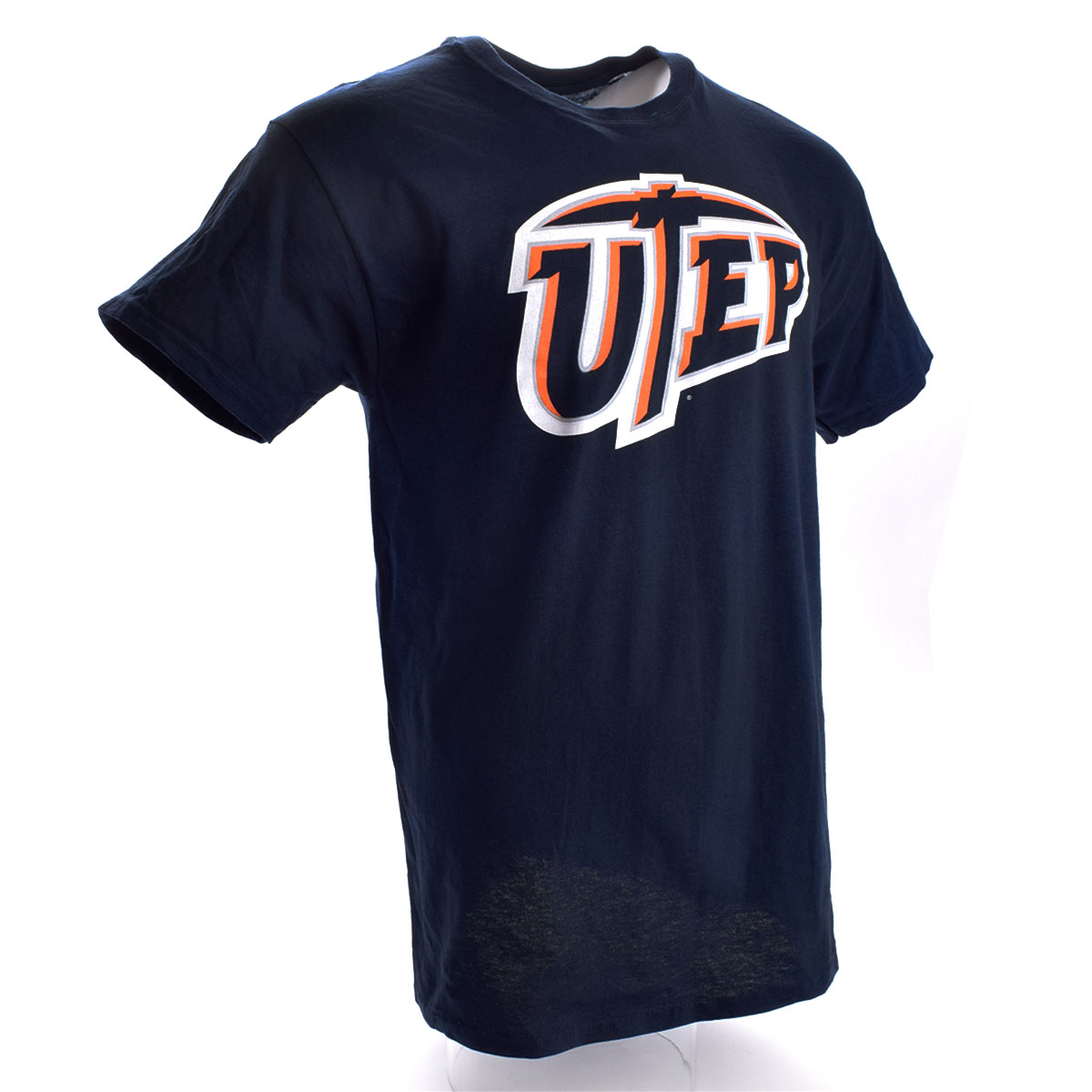 UTEP Miners Medium Logo T-Shirt (Navy)