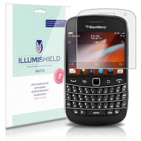 iLLumiShield Anti-Glare Matte Screen Protector 3x for BlackBerry Bold (Blackberry Bold 9790 Touch Screen Not Working)