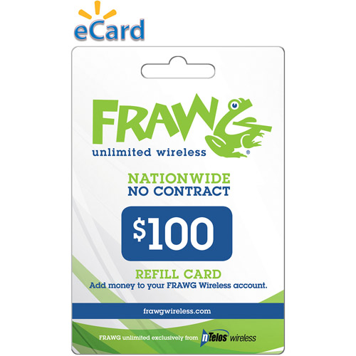 Ntelos Frawg $100 (email Delivery)