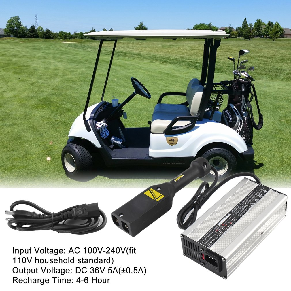 Golf cart batteries 36V 5A Battery For Golf Cart Electric Motorcycle Charging Device
