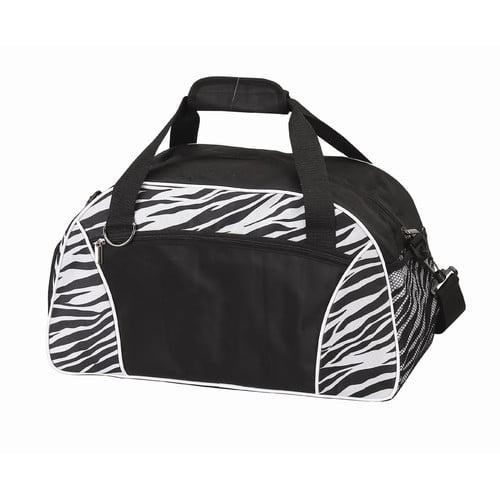 Preferred Nation Zebra 18.5'' Weekender Duffel