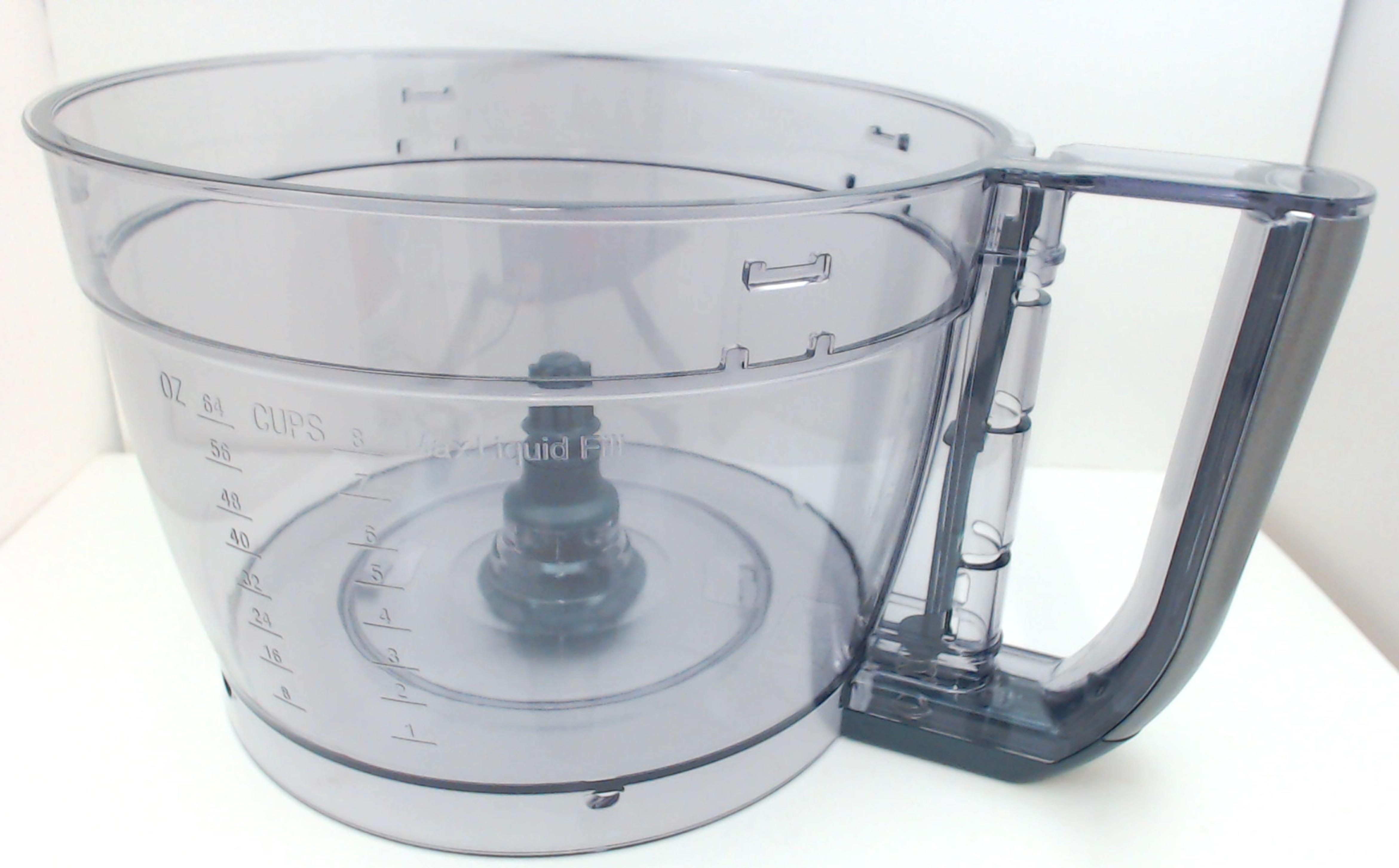 Cuisinart 13-Cup Elemental Food Processor Large Work Bowl Gun Metal FP-13GGMWB