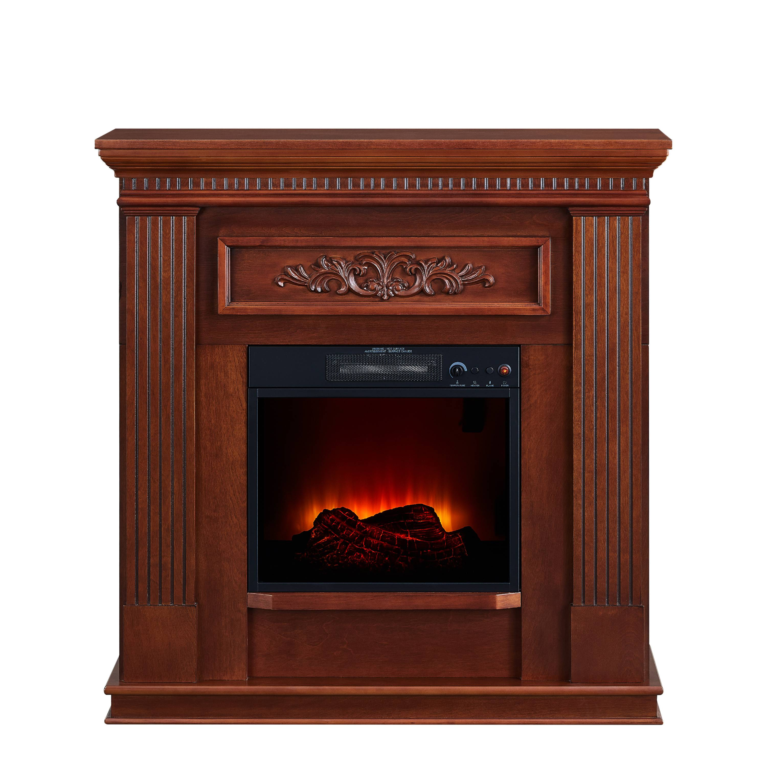 Pleasing Bold Flame 38 Inch Wall Corner Electric Fireplace In Dark Download Free Architecture Designs Xerocsunscenecom