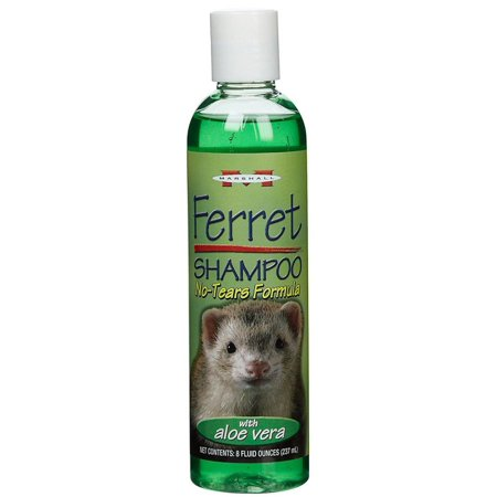 Marshall Pet Products-Ferret Shampoo-No-tears Formula With Aloe Vera 8 Oz