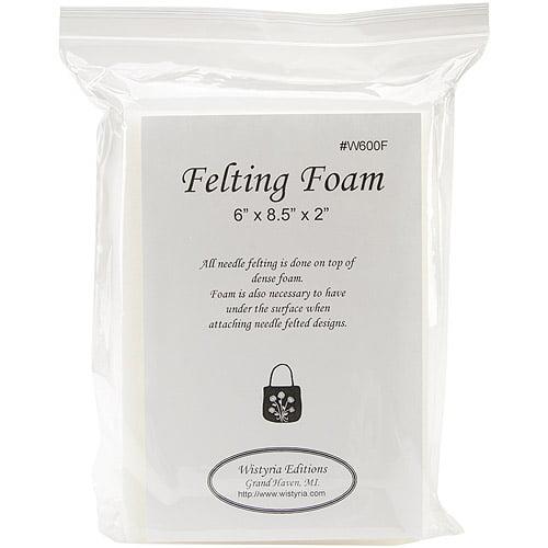 "Felting Foam Large, 6"" x 8-1/2"" x 2"""