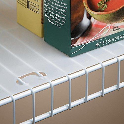 Conimar Shelf Liner For Wire Shelving 12 Inches Deep 10