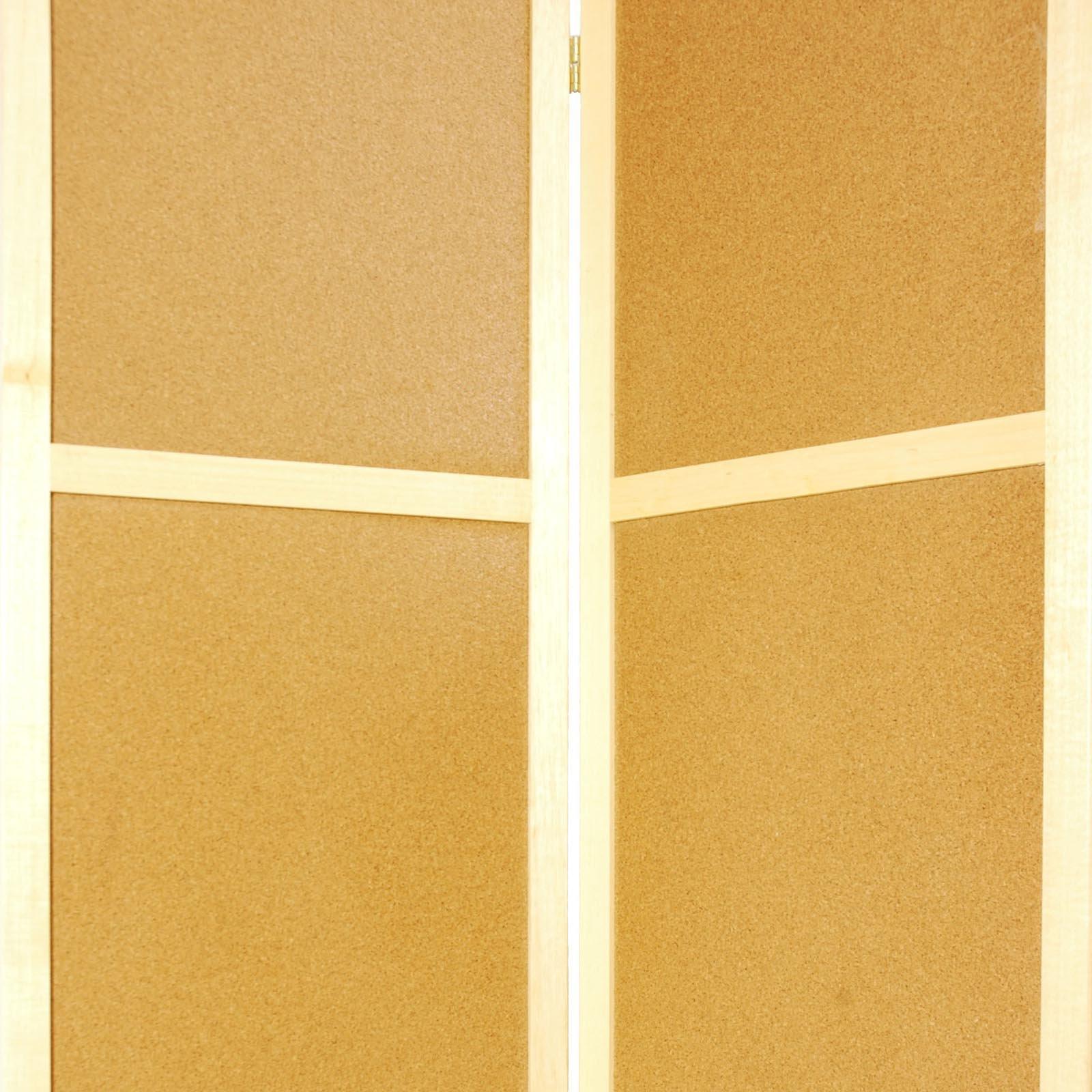 Oriental Furniture Cork Board Room Divider - Walmart.com