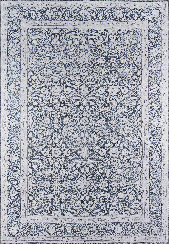 "Momeni Afshar Polyester Machine Made Charcoal Area Rug 8'5"" X 12' by Momeni"
