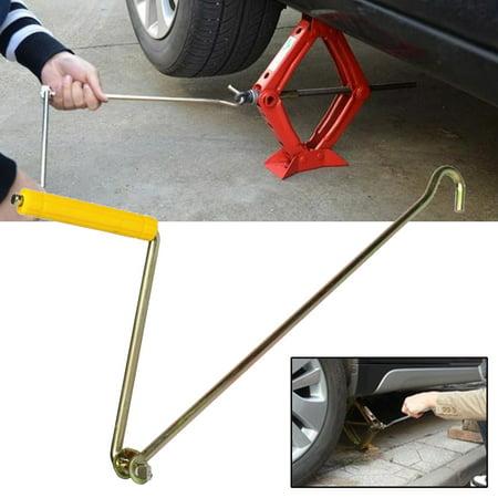 New Car Truck Metal Jack Lug Handle Wrench Auto Repair Tool Handle Crank Scissor (Jack Handles)