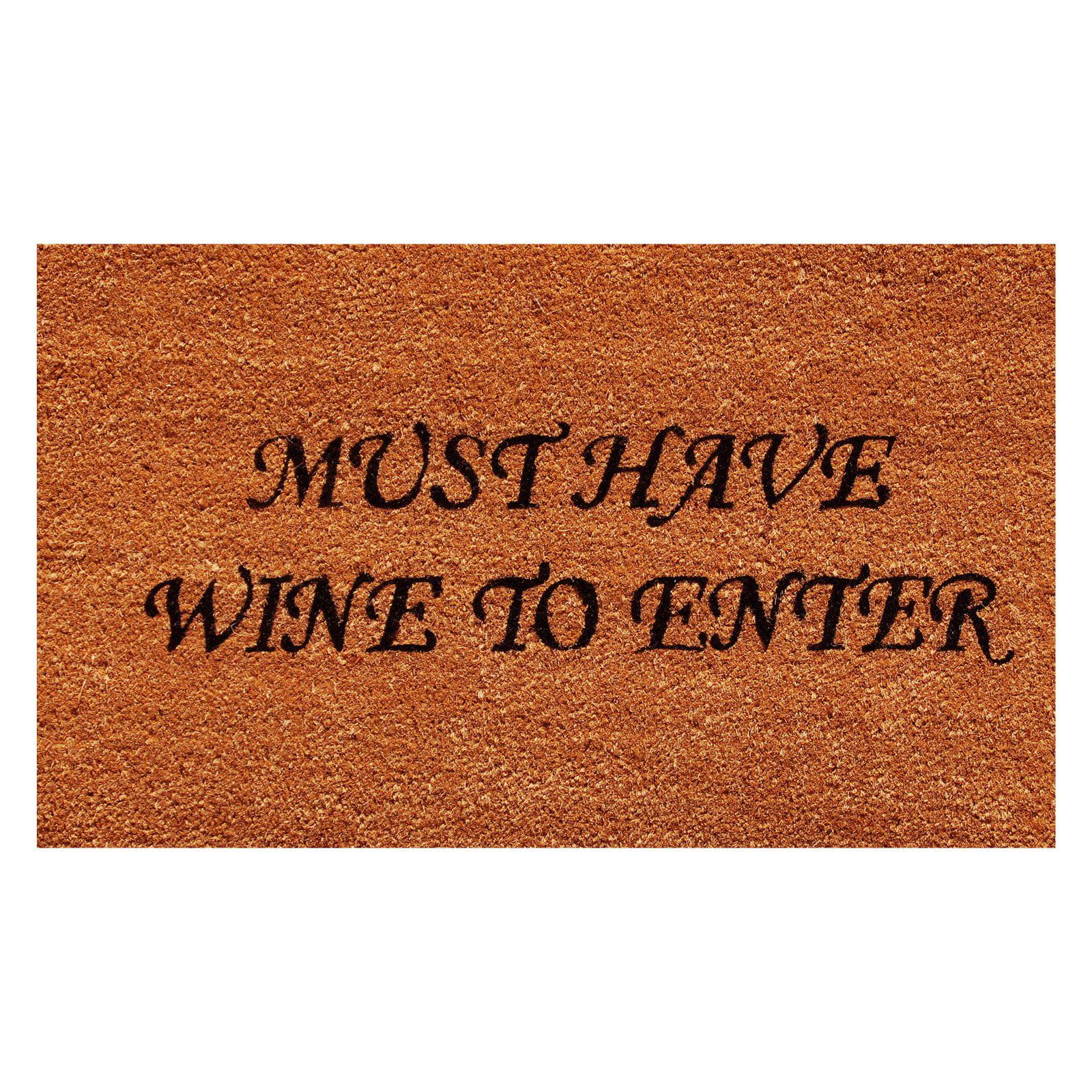 Must Have Wine Doormat