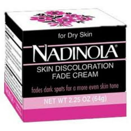 Nadinola Skin Discoloration Fade Cream for Dry Skin, 2.25