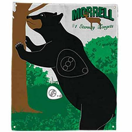 Morrell Targets Polypropylene Archery Target Face, Standing Bear (Bear Target)