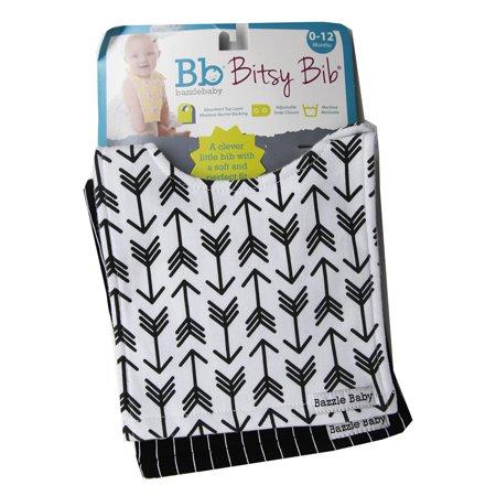 Bazzle Baby Bitsy Bib Black & White -2 -