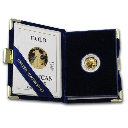 1/10 oz Proof Gold American Eagle (Random Year, w/Box &