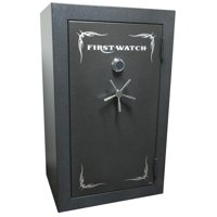 First Watch BR50125360 Gun Safe in Black with Combination Dial Lock