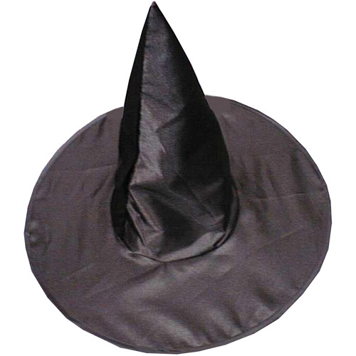 Deluxe Satin Witch Hat Adult Halloween Accessory