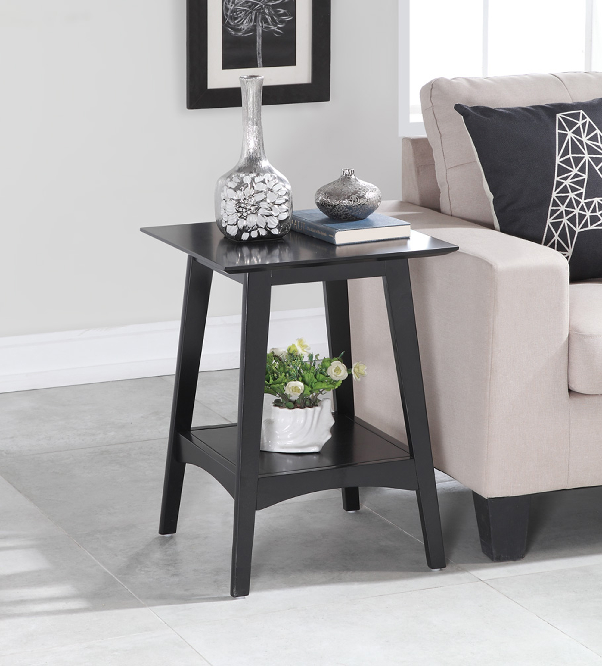 Convenience Concepts Alpine End Table