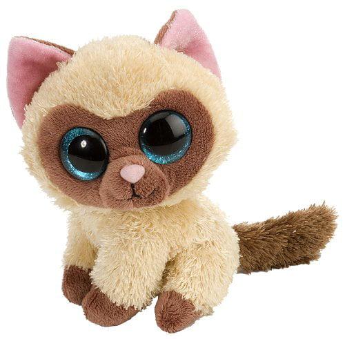 L'Il Sweet & Sassy Siamese Cat Mocha Plush, L'il Sweet & Sassy By Wild Republic by