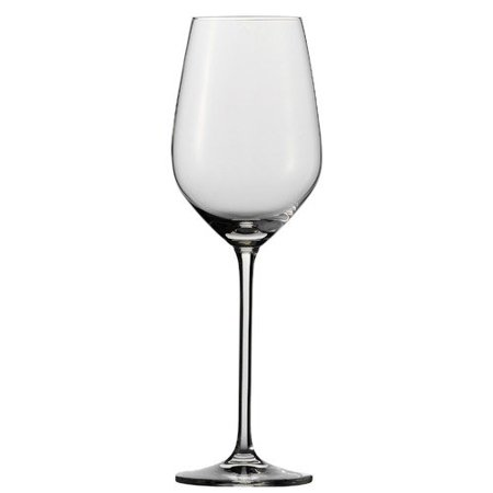 (Schott Zwiesel Tritan Crystal Glass Fortissimo Stemware Collection White Wine Glass, 13.7Ounce, Set of 6)