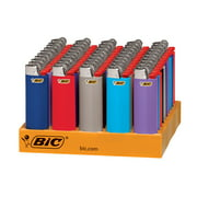 Lighters Bic Large 50- Count Tray Asst Colors.