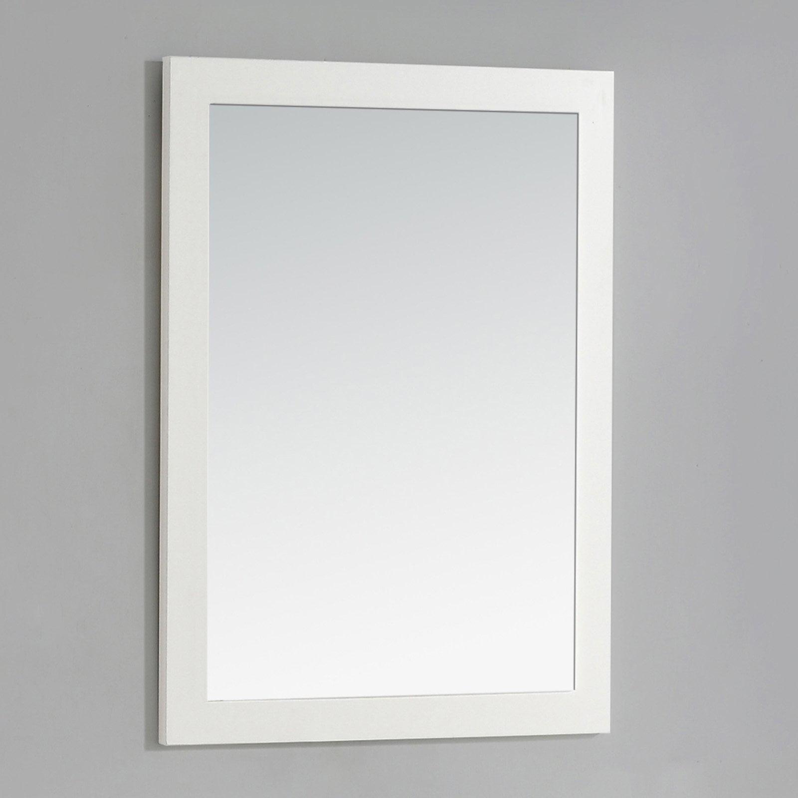 """Brooklyn + Max Newbury 22"""" x 30"""" Soft White Bath Vanity Decor Mirror by brooklyn %2B max"""