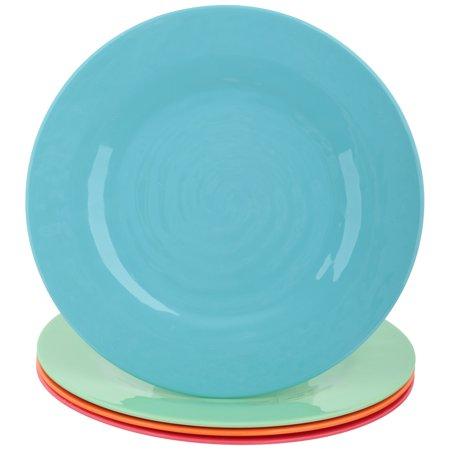 Best Gibson Home Brela 12-Piece Melamine Dinnerware Set deal