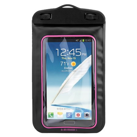 new product b4263 21819 Waterproof Case Smartphone Dry Pouch (Black/Pink) w/ Neck Lanyard -  Compatible w/ iPhone XR/XS/XS Max/X/8+ Galaxy S10+/S9+ OnePlus 6T LG BLU,  Phones ...