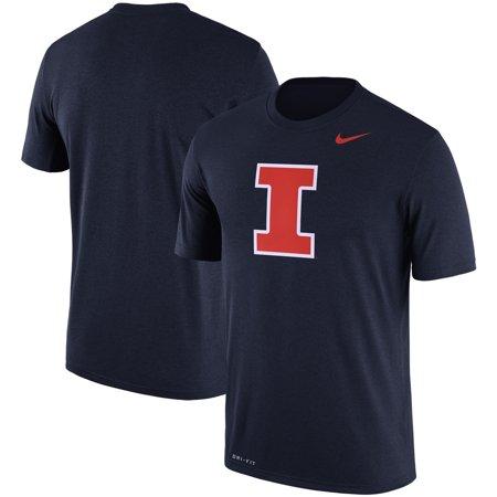 Illinois Fighting Illini Nike Logo Legend Dri-FIT Performance T-Shirt -