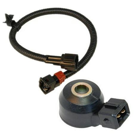 hqrp knock sensor w wiring harness for nissan frontier 98. Black Bedroom Furniture Sets. Home Design Ideas