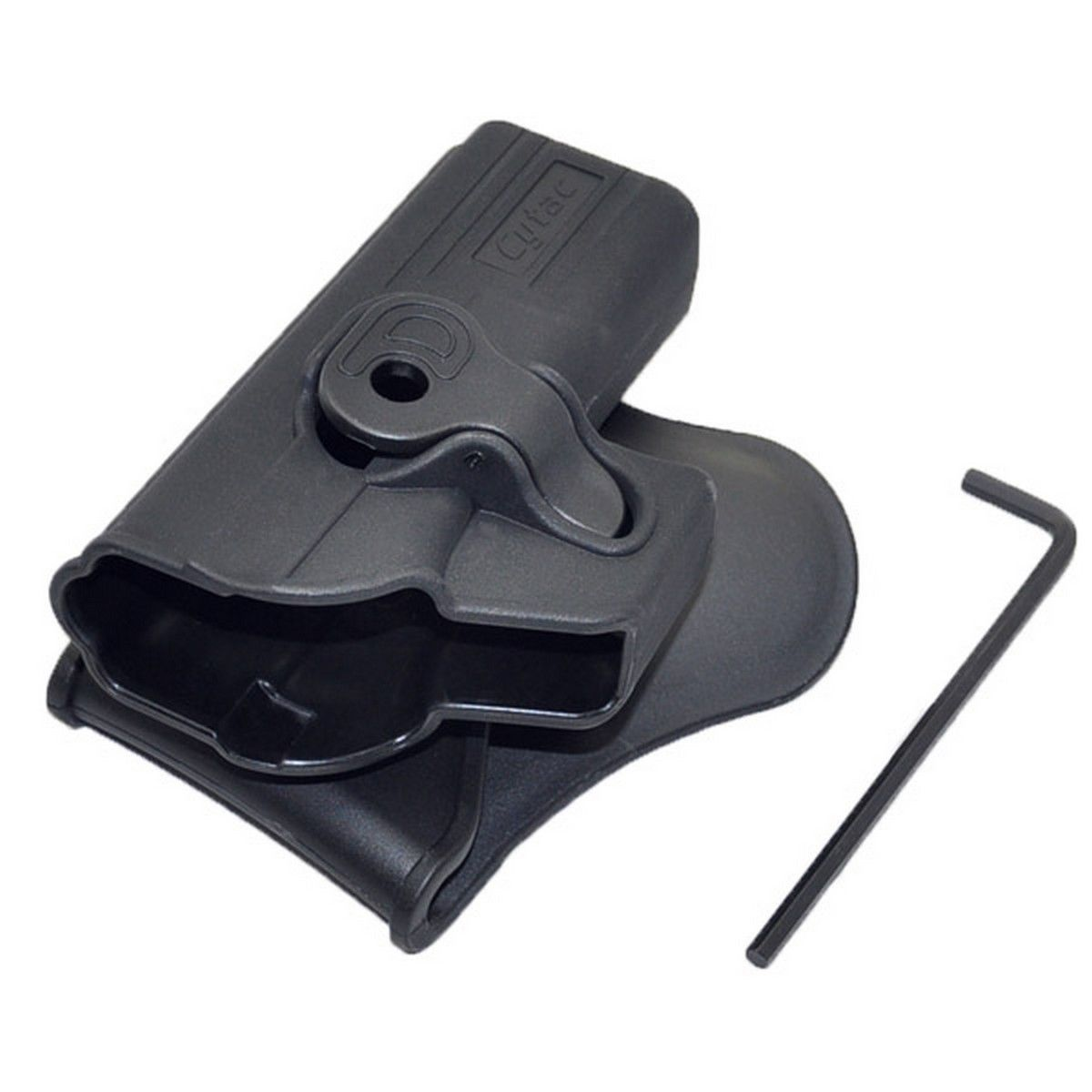 For Glock 42 Level II Retention Polymer Paddle Holster Tactical Scorpion by Tactical Scorpion Gear