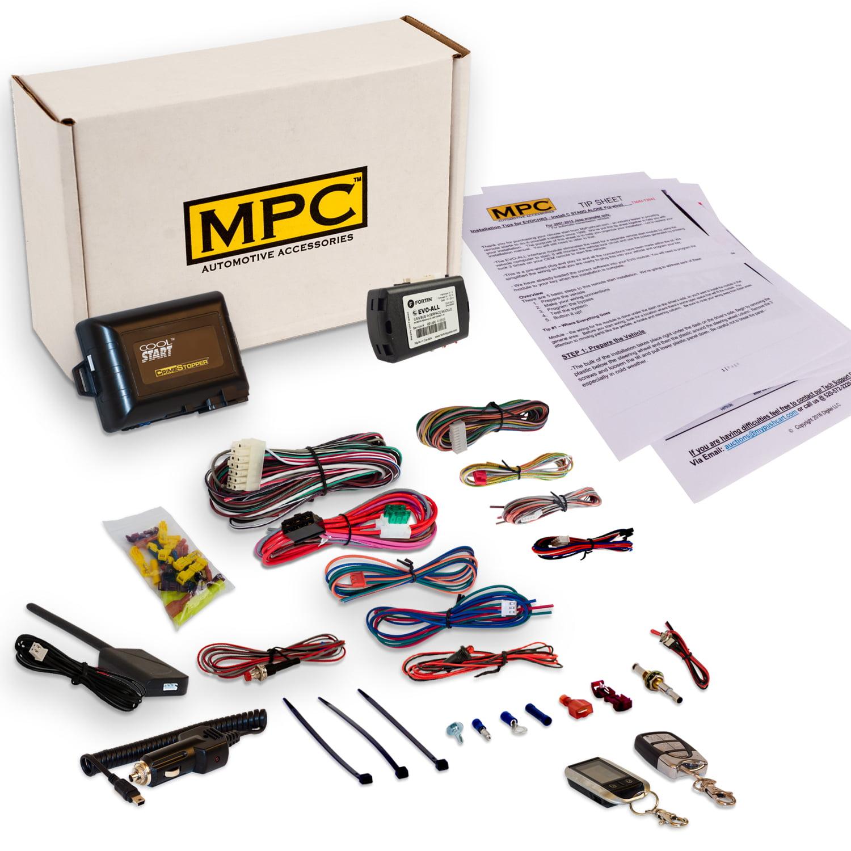 MPC 2-Way Remote Start Fits Nissan Altima, Maxima, Murano...