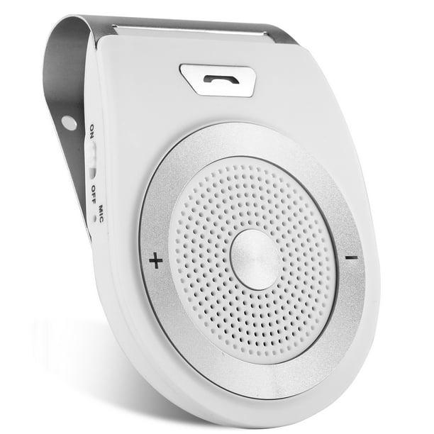 Imountek Bluetooth Car Speakerphone Wireless In Car Bluetooth 4 1 Speaker Hands Free Calling Music Player Sun Visor Audio Receiver Car Kit Walmart Com Walmart Com