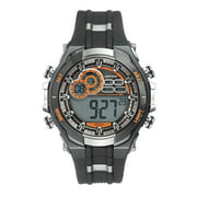 Men's Multi-Functional Digital Gray and Black Watch