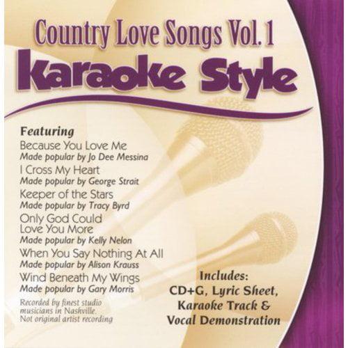 KARAOKE STYLE: COUNTRY LOVE SONGS 1 / VARIOUS