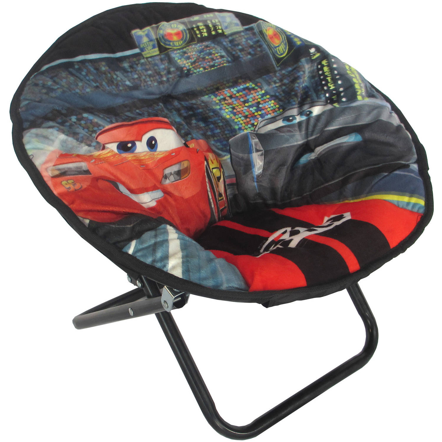 Disney Cars 3 McQueen Mini Collapsible Saucer Chair