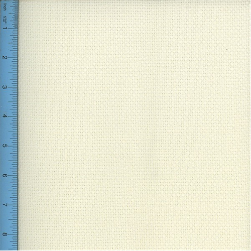 Basket Weave Linen Ivory Canvas Home Decorating Fabric, Fabric By the Yard